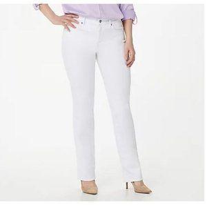 NYDJ Petite Marilyn Straight Uplift Jeans 6569